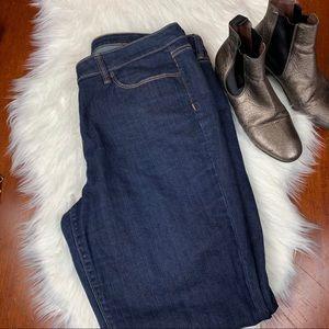 Ann Taylor LOFT Modern Straight Jeans Size 16